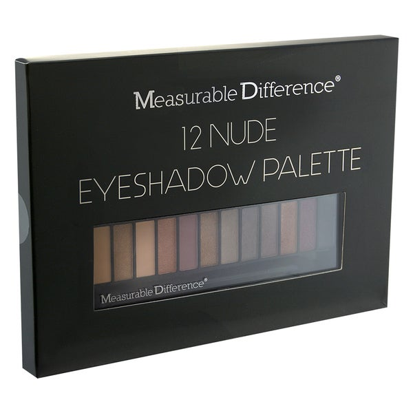 Measurable Difference 12-color Nude Eye Shadow Palette