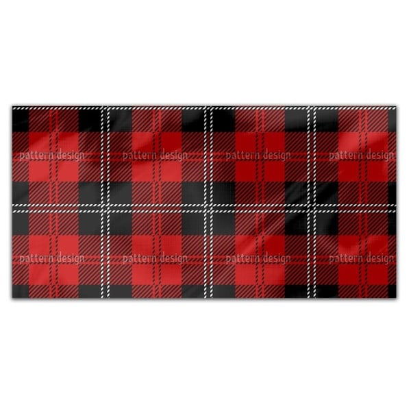 Kilt Rectangle Tablecloth