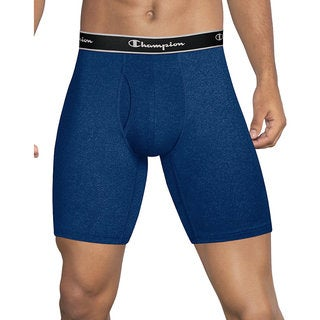 Men's Champion Tech Performance Long-leg Boxer Briefs (Pack of 2)