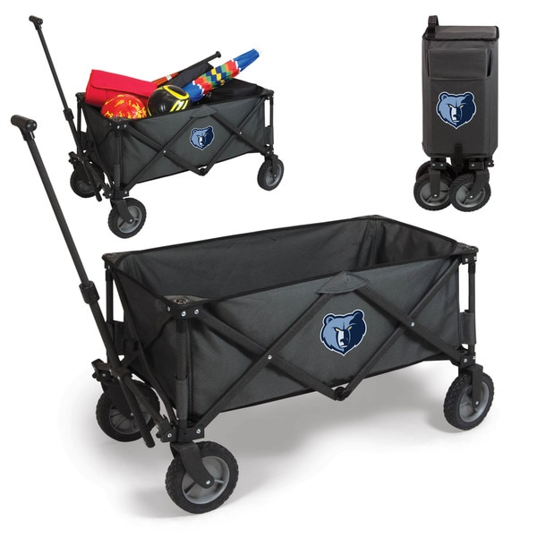 Picnic Time Dark Grey Memphis Grizzlies Adventure Wagon