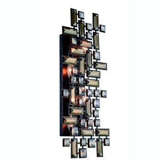 Elegant Lighting Picasso 22-inch Wall Sconce with Dark Bronze Finish