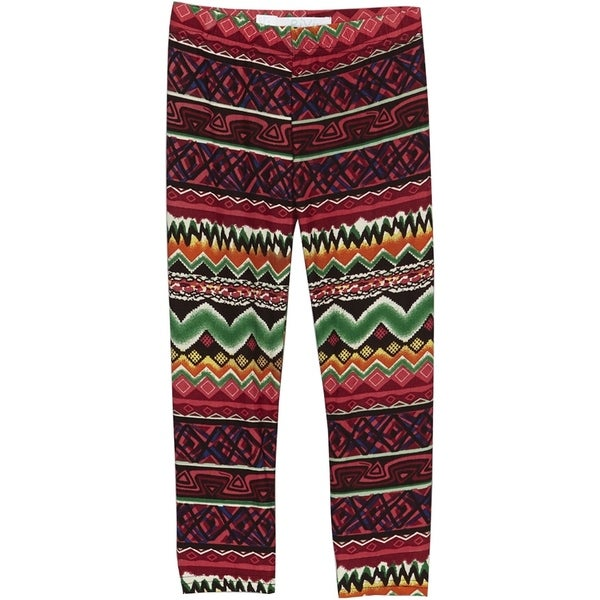 Girls Printed Polyester and Spandex Toddler and Kid-sized Legging
