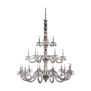 Elegant Lighting Augusta 52-inch Pendant Lamp with Chrome Finish