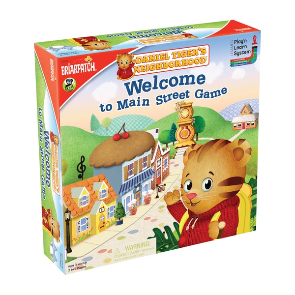 Daniel Tiger's Neighborhood 'Welcome to Main Street' Board Game