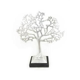 Metal Living Tree Jewelry Stand