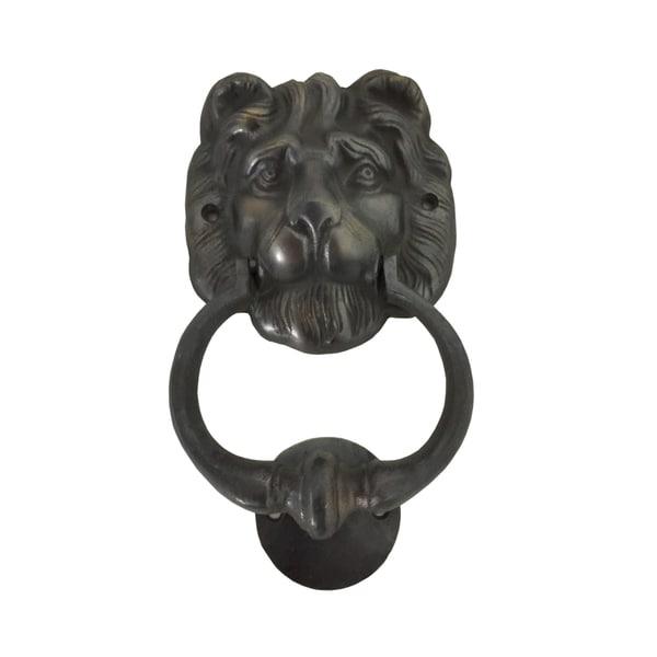 Lion Head Brass Door Knocker (Big)