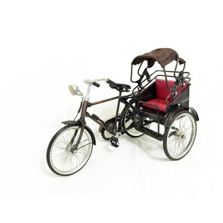 Metal Mandarin Bicycle Decor