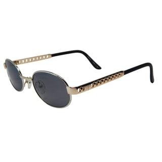 Vecceli Italy Unisex NK9980 Gold Plastic/Stainless Steel Sunglasses