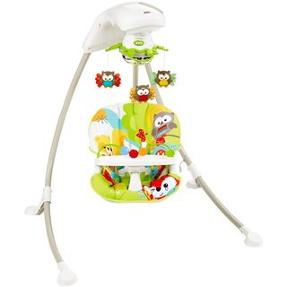 Fisher Price Woodland Friends Cradle 'n Swing