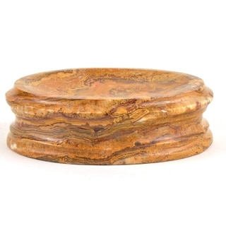 Nature Home Decor Bengal Collection Multicolor Stone Soap Dish
