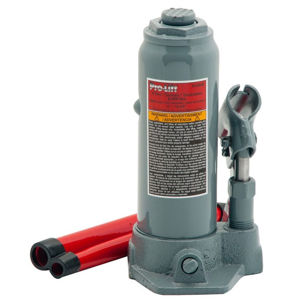 Pro-Lift B-004D 4-ton Hydraulic Bottle Jack