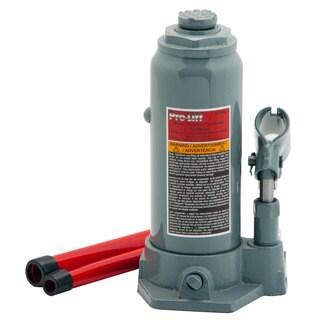 Pro-Lift B-006D Grey Steel 6-ton Hydraulic Bottle Jack