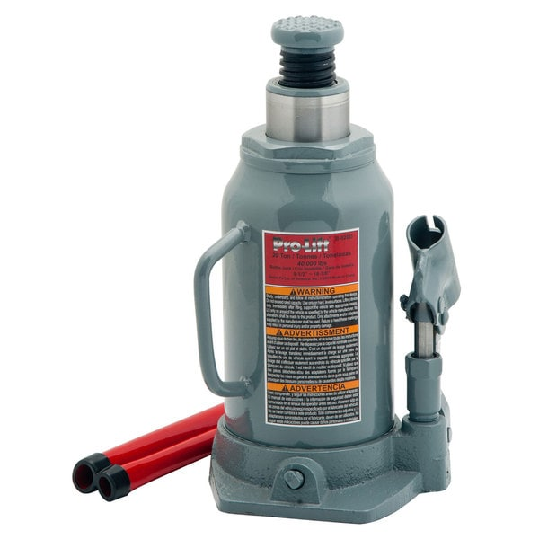Pro-Lift B-020D 20-ton Hydraulic Bottle Jack