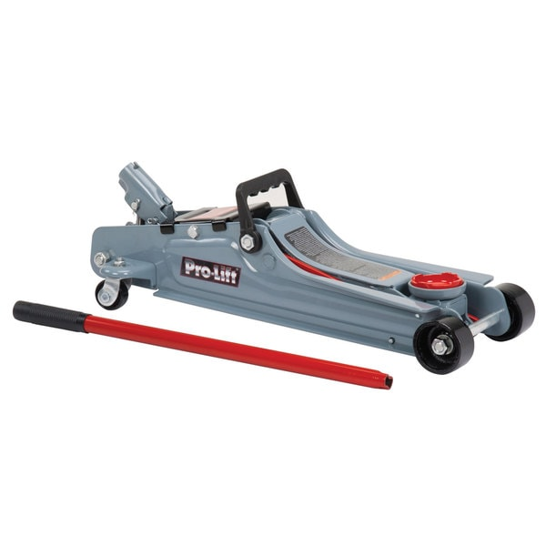 Pro-Lift F-767 Grey Steel 2-ton Low Profile Floor Jack