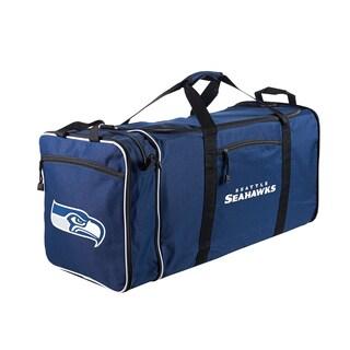NFL Blue Seattle Seahawks 28-inch Duffel Bag