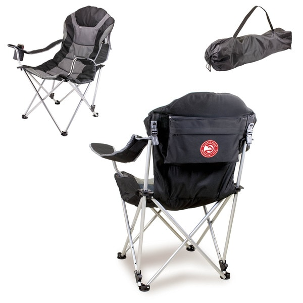Picnic Time Atlanta Hawks Reclining Camp Chair