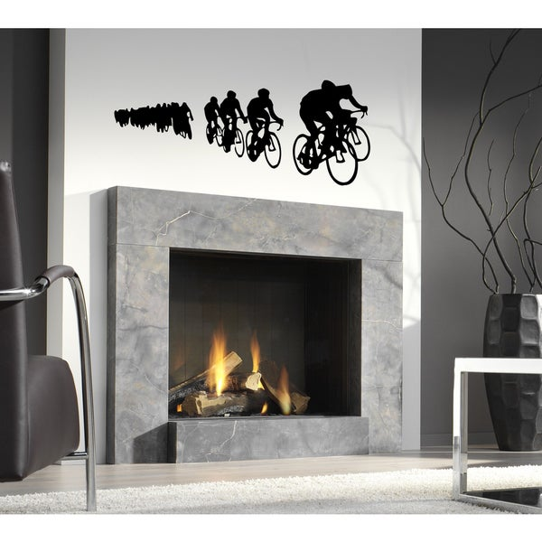 Race bikes Wall Art Sticker Decal