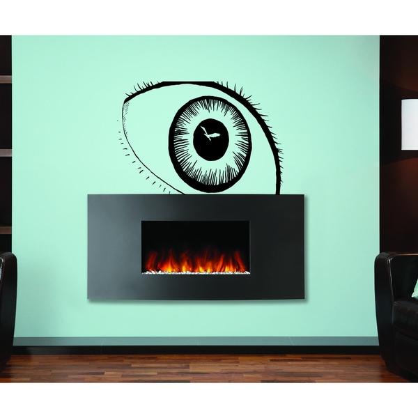 Wide eyes Wall Art Sticker Decal 18785045
