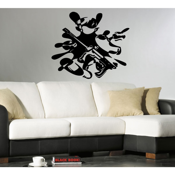 Battle war blot paintball Wall Art Sticker Decal