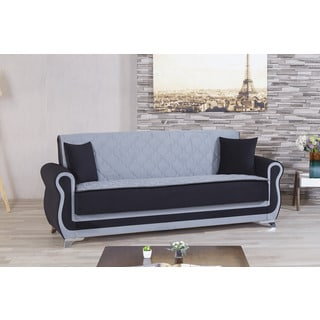 Luxmark Microfiber Convertible Sofa Bed Futon