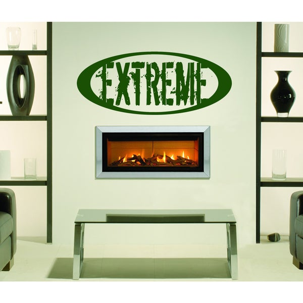 Extreme Wall Art Sticker Decal Green