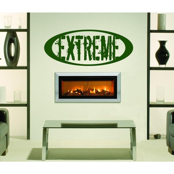 Extreme Wall Art Sticker Decal Green