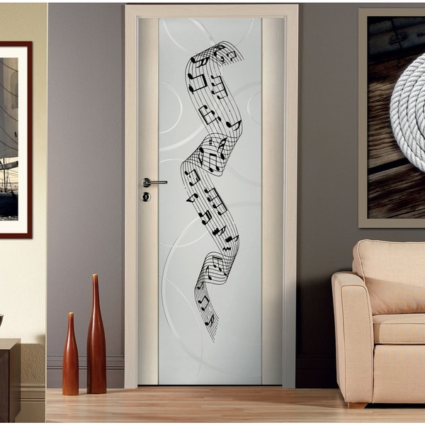 Music notes song Wall Art Sticker Decal
