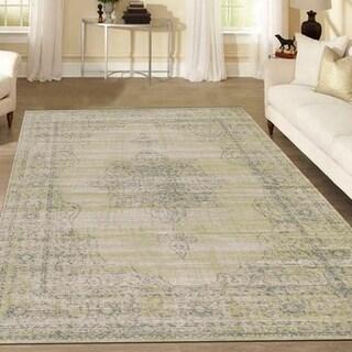 Corina Medallion Area rug (7'10 x 10'6)