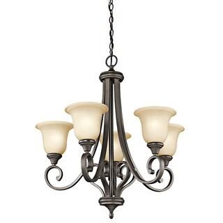 Kichler Lighting Monroe Collection 5-light Olde Bronze Chandelier