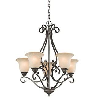 Kichler Lighting Camerena Collection 5-light Olde Bronze Chandelier