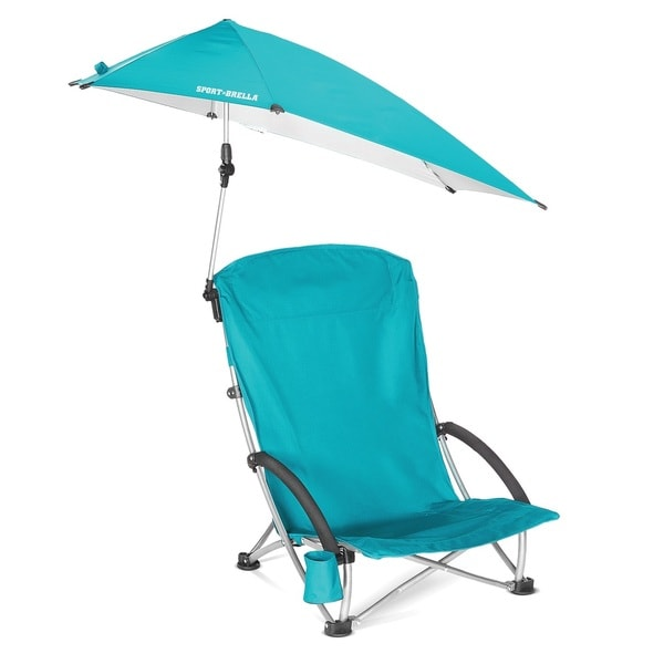 SKLZ Sport-Brella Blue Beach Chair
