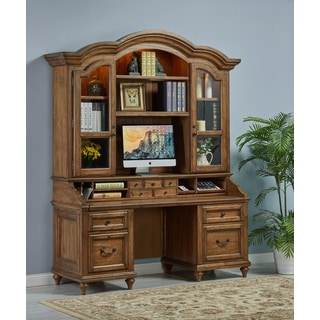 Budapest Smart Top Credenza and Hutch