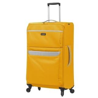 Mia Toro Italy Bernina Large 28-inch Expandable Spinner Upright Suitcase