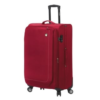 Mia Toro ITALY Madesimo Large 28-inch Expandable Spinner Upright Suitcase