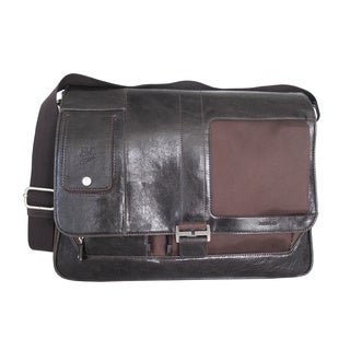Mouflon Otello Adjustable Synthetic Leather Messenger Bag
