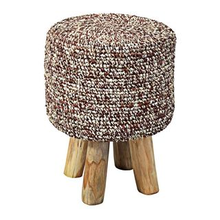 Crafted Home Decorative Grandview Round Stool