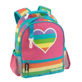KidKraft Small Rainbow Multicolor Polyester Backpack