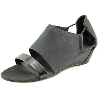 Matisse Women's Port Black Nubuck Sandals