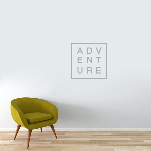 Adventure Vinyl Wall Decal