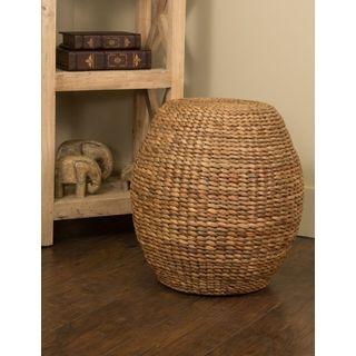Crafted Home Decorative Harrington Round Stool