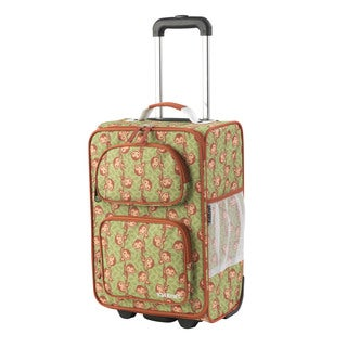 Kid Kraft Monkey 18-inch Carry On Rolling Suitcase