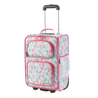 Kid Kraft Leaves 18-inch Carry-on Rolling Suitcase