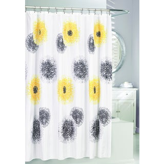 Polyester Blossom Shower Curtain