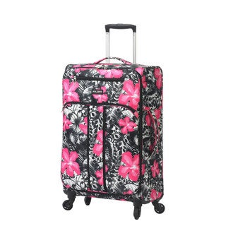 Mia Toro ITALY Ibisco 24-inch Expandable Fashion Spinner Upright Suitcase