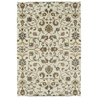 Hand-Tufted Perry Linen All-Over Wool Rug (8'0 x 10'0)