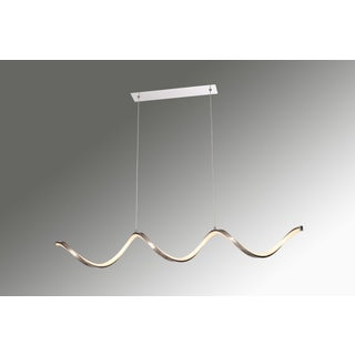 Contempo Lights Ritz White Aluminium 36-inch x 4-inch x 1-inch Multidirectional Pendant Lamp