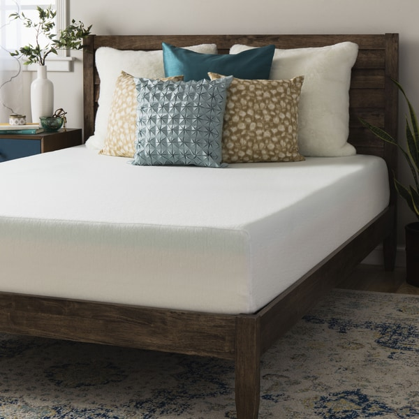 Crown Comfort 10-inch Twin-Size Memory Foam Mattress