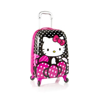 Heys Hello Kitty 20-inch Carry-on Spinner Upright Suitcase