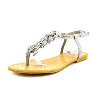 Nine West Women's 'Promised' Grey Leather Sandals