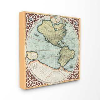 Classic Collections Fine Art 'Globe' Stretched Canvas Wall Art